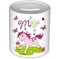 Spardose, Pony, mit Namen, für Kinder, Geschenk, Kinderspardose, Geschenk Taufe, Sparschwein, Geldgeschenke,