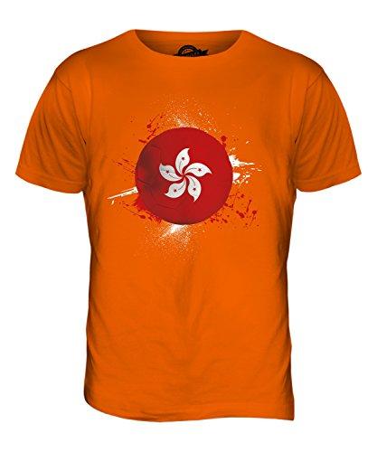 CandyMix Hongkong Fußball Herren T Shirt Orange