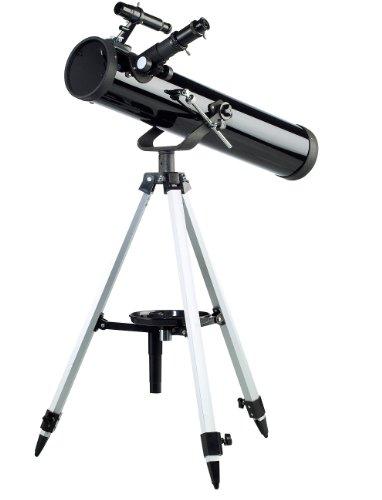 Zavarius Fernrohre: Großes Spiegel-Teleskop 76/700 mit variablem Dreibein-Stativ (Monokular-Teleskop)