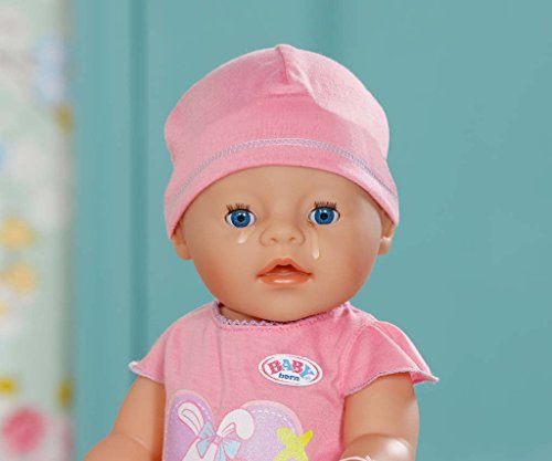 Imagen principal de Zapf Création Interactive Baby Born-Muñeca Bebe, Color Rosa, (10 Accesorios)