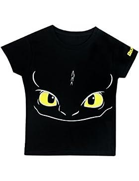 Dragons Camiseta Para Niño - Cóm