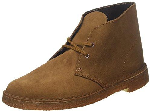 Clarks Originals Desert Boot, Herren Desert Boots Kurzschaft Stiefel & Stiefeletten, Braun (COLA SUEDE), 45 EU 10.5 UK (Clark Boot Wildleder)