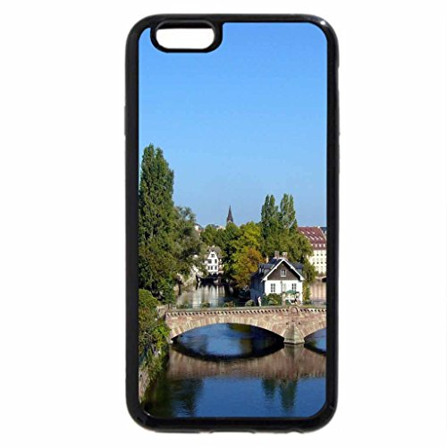 iPhone 6S / iPhone 6 Case (Black) Beautiful village france