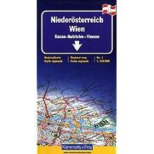 Basse-Autriche - Vienne. Feuille 1, 1/150 000