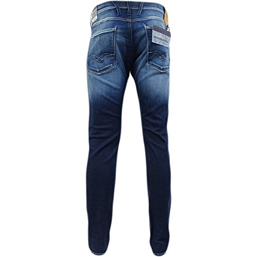 Replay -  Jeans  - Jeans - Basic - Uomo Blue