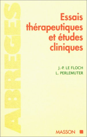 Essais thérapeutiques et études cliniques