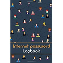 Internet password logbook: security, username logbook