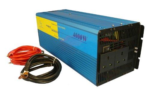 12v Ac Alarm Remote (Sunshine Wechselrichter 4000W Reiner Sinus DC 12V auf AC 230V)