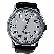 Diseño único de auténtico ruso del viento del reloj resistente al agua hasta la cocina cierra con una sola mano