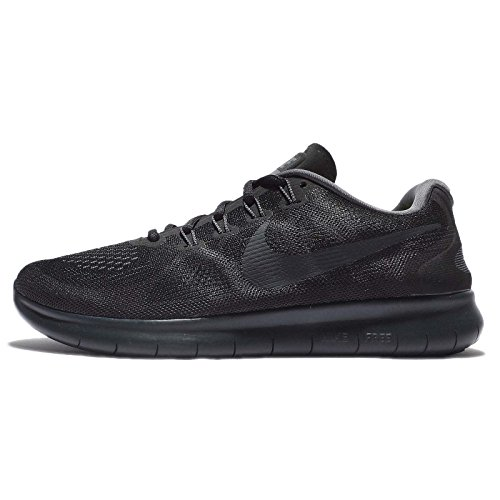 Nike Herren Free Rn 2017 Laufschuhe BLACK/ANTHRACITE-DARK GREY-COOL GREY