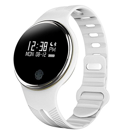 HuiHeng Fitness Tracker E07 impermeabile Salute Activity Tracker Pedometro sonno Monitor Bluetooth Sync orologio intelligente per Android e iOS Phone