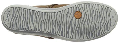 Softinos - Ibo355sof, Scarpe da ginnastica Donna Brown (Brown)