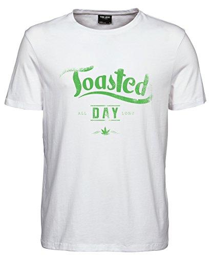 makato Herren T-Shirt Luxury Tee Toasted White