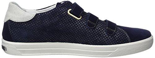 Ricosta Ashley, Sneakers basses femme Blau (nautic)