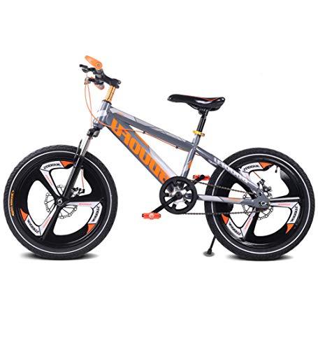 SJSF Y Singlespeed Kinder Mountainbikes, 16''18''20 '' Gears Rennrad Mountain Student Dual Scheibenbremse Fahrrad Reduzieren Sie Vibration Kinderfahrrad,18inch -