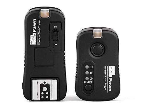 Pixel TF-361 Wireless Flash Trigger Shutter Remote Controller for Canon DSLR Camera 5D 6D 7D 1D 1DS 50D 60D 70D