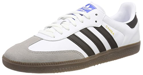 competitive price 6d4dd ab09e adidas Samba OG, Zapatillas para Hombre, Blanco (Footwear White Core Black