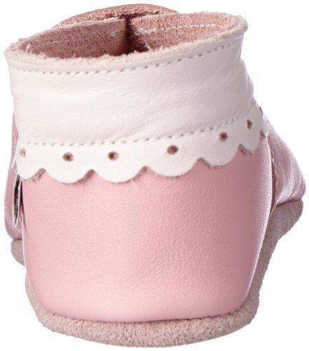 Bobux  460615, Chaussons premier âge mixte enfant Rose (Pink)