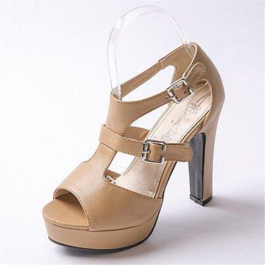 Donna Sandali Primavera Estate scarpe Club Comfort Novità fiore ragazza scarpe materiali personalizzati similpelle matrimonio abito outdoor casual Almond