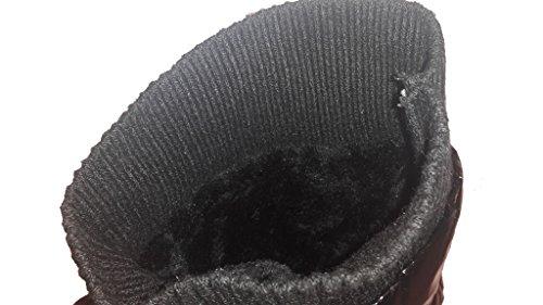 Stivaletti Rigati 3-w-high-burg Con Allacciatura Elegante E Design Esclusivo, In Bianco O Nero, Scarpe Da Donna, Sti010, Scarpa Per Donna, Una Scarpa Davvero Accattivante. Nero