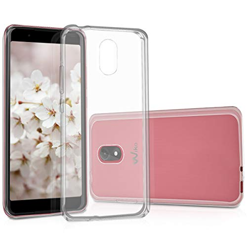 kwmobile Wiko Lenny 5 Hülle - Handyhülle für Wiko Lenny 5 - Handy Case in Transparent