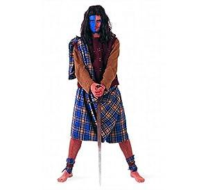 Limit Sport - Disfraz de guerrero escocés para hombre, talla L (DA761)