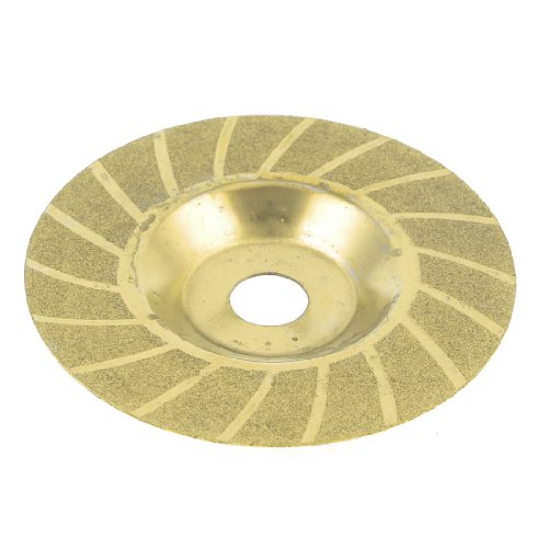 98 mm x 20 mm x 0,8 mm Double Side Glas Diamant-Sägeblatt Trennscheibe Gold-Ton