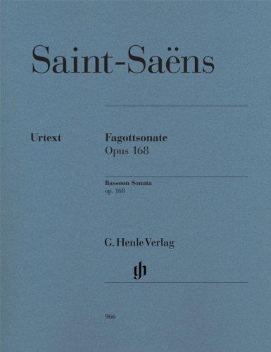 Sonate für Fagott und Klavier op. 168