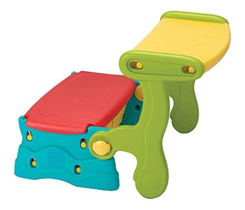 Grow´n Up Sit N Munch 3in1 Kinder Sitzbank Spieltruhe Spieltisch Maltisch