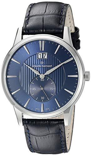 Claude Bernard by Edox sofisticato Classics orologio da uomo 64005.3.Buin...