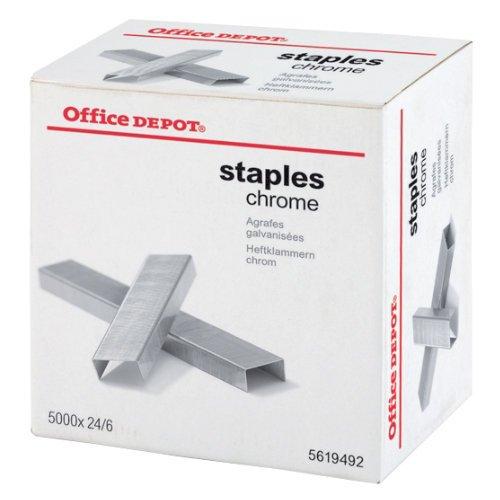 office-depot-heftklammern-24-6-24-6-bis-30-blatt-silber-5000-stuck