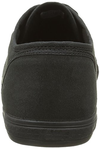 Le Coq Sportif Deauville Plus, Baskets mode mixte adulte Noir (Black/Old Silver)