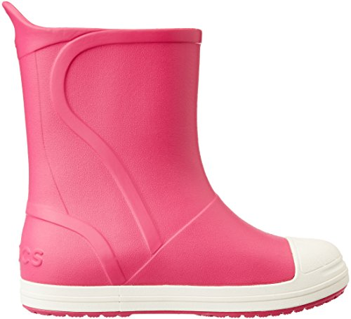 Crocs Bump It Boot, Bottes Mixte Enfant Rose (Candy Pink/Oyster)