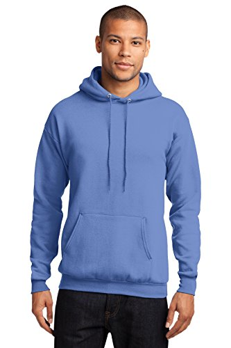 Port & Company Herren Kapuzen Sweatshirt xl Blau - Carolina Blue (Sweatshirt Kapuze Blau Carolina)