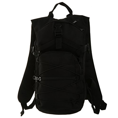 Imagen de  negro táctico del bolso que va de excursión el senderismo del deporte al aire libre militar