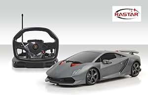 Rastar 1:18 Remote Control Lamborghini Sesto Elemento with Steering Wheel Controller, Multi Color