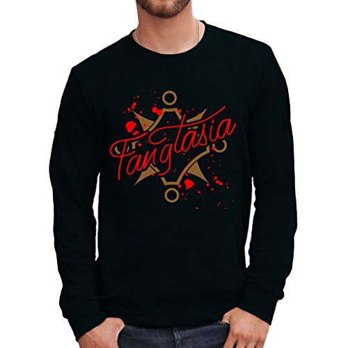 Sweatshirt Fangtasia Club True Blood - Film By Mush Dress Your Style - Herren-XXL Schwarz -