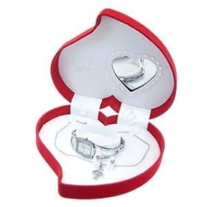 Coffret cadeau montre Femme Chtime avec collier pendentif clé de sol et boucles d'oreilles référence CCP3-MCCHC1-ARGENT
