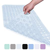 XIYUNTE Bath Mats Non-slip Shower Mats, Mildew Resistant Bathtub Mats with Suction Cup for Bathroom, Children