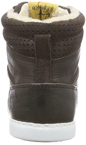 Bullboxer 185M83690D, Oxford Femme  Baskets Noir (p899)