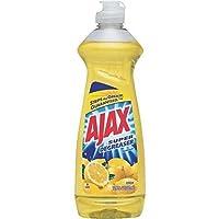 Ajax Super Degreaser Dish Liquid, Lemon, 12.6 Fluid Ounce (Pack of 4)