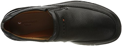 Clarks Herren Unnature Easy Slipper Schwarz (pelle Nera)