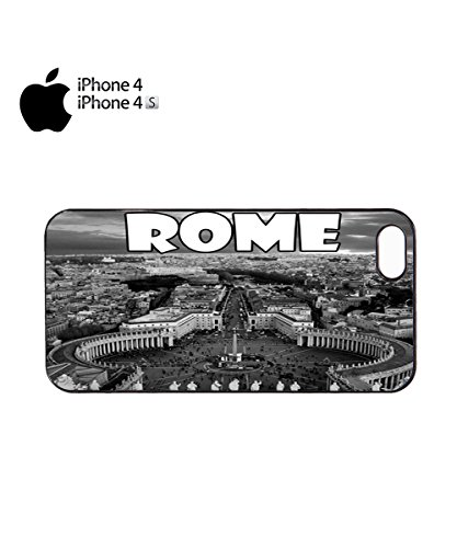 Rome Vatican Dream City Night City Center Mobile Phone Case Cover iPhone 6 Plus + Black Noir