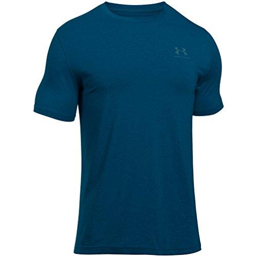 under-armour-mens-cc-left-chest-lockup-short-sleeve-t-shirtnavyblackout-navysizemedium