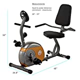 Best Recumbent Cyclette - Marcy ME-709, Cyclette Recumbent Cardio Fitness Unisex Adulto Review