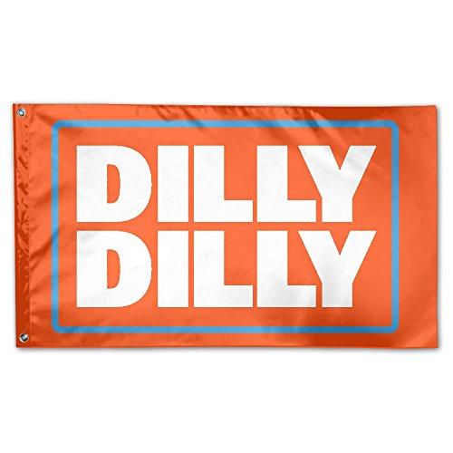 5' Outdoor Indoor Banner (JUMEOW Dillwyn Dillwyn Outdoor Flagge 3'x 5' für Werbung/Banner/Outdoor/Indoor-/Aktivitäten/Home/Jahrestag/Party Decor/Urlaub/Seasonal, Etc, Unisex, Dilly Dilly-1, One Size)