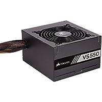 Corsair VS550 550 W Active PFC 80 PLUS Certified Power Supply Unit - Black