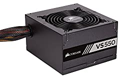 Corsair Vs550 550 W Active Pfc 80 Plus Certified Power Supply Unit - Black