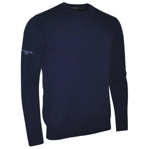 Glenmuir Morar - Pull 100% laine d'agneau - Homme Vert bouteille