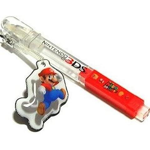 Super Mario - Super Mario 3D Land Character Mascot Touch Pen Stylus Tomy DS 3DS DSi Lite XL (japan